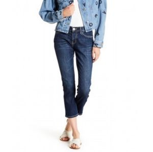 B2G1 NWT Current/Elliot Cropped Straight Jeans